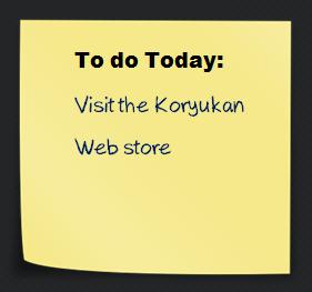 Koryukan Samourai school web store