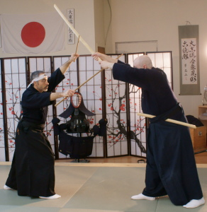 Cours de kenjutsu
