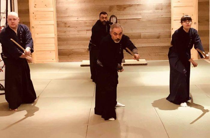 Samurai Kenjutsu (剣術)